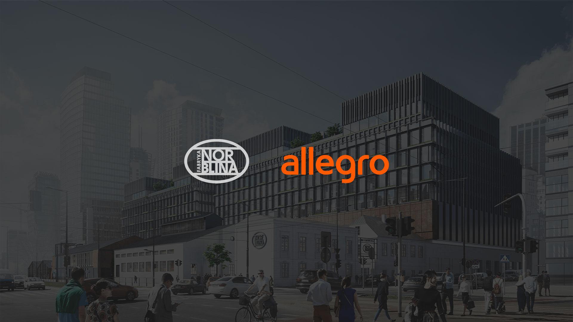 Allegro największym najemcą Fabryki Norblina!